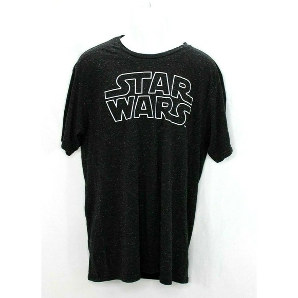 Star Wars T-Shirt Size XL Space Dyed Black
